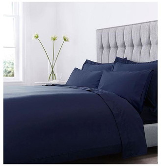 Hotel Collection 800TC Navy Flat Sheet