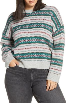 BP Fair Isle Crewneck Sweater