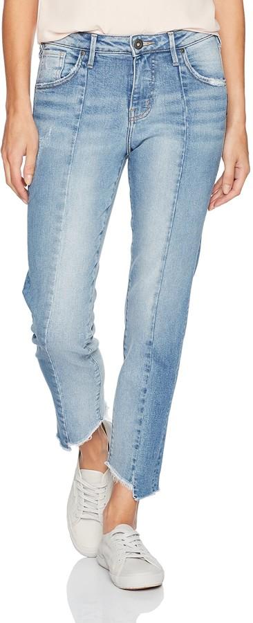Silver Jeans Women's Izzy High-Rise Slim Leg Crop Jeans