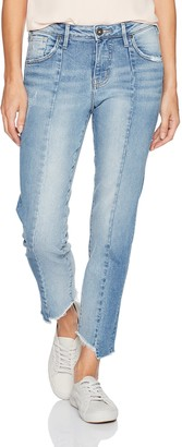 Silver Jeans Women's Izzy High-Rise Slim Leg Crop Jeans