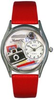 Whimsical Watches Women's S0440011 Memories Red Leather Watch