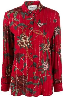 BA&SH Petunia floral shirt