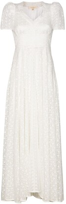 LoveShackFancy Castella embroidered lace dress