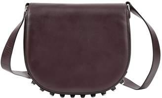 Alexander Wang Lia Burgundy Leather Handbags