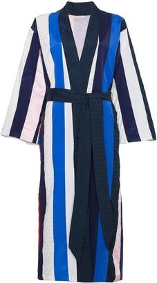 Natasha Zinko Striped midi robe