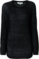 IRO sheer longsleeved T-shirt - women - Polyamide/Alpaca - S