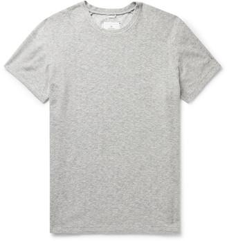 Reigning Champ Textured Cotton-Blend T-Shirt