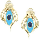 House Of Harlow Risha Turquoise Clip-On Earrings