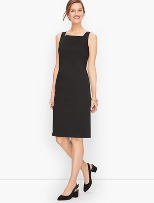 Talbots Sateen Stripe Sheath Dress