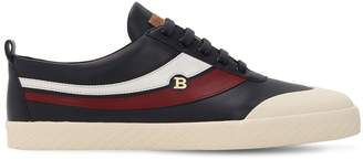 Bally SMAKE LOGO LEATHER SNEAKERS
