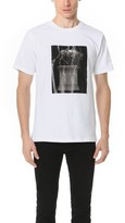 Public School Kissen T-Shirt with Monument Print