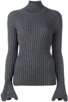 Lanvin ribbed jumper - women - Wool - XS