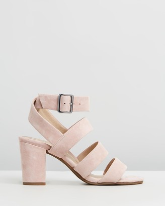 Vionic Women's Pink Heeled Sandals - Blaire Heeled Sandals - Size One Size, 5 at The Iconic