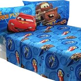 Disney 4pc Full Bed Sheet Set Lightning McQueen City Limits Bedding Accessories