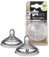 Tommee Tippee 2pk Slow Flow Baby Bottle Nipples