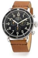 Shinola The Runwell Sport Chrono Stainless Steel Watch