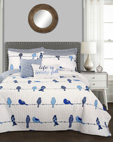 Lush Decor Rowley Birds Quilt 7Pc Set