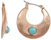 Lucky Brand Imitation Turquoise Small Hoop Earrings, 26mm