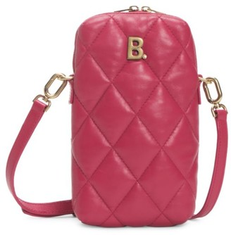 Balenciaga Touch Quilted Leather Crossbody Bag