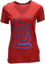 Nike Women's St. Louis Cardinals Legend V Graphic Logo T-Shirt