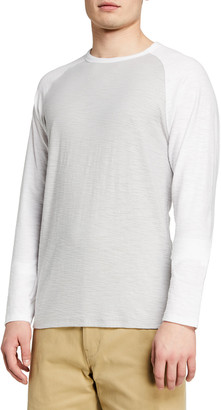 Vince Men's Colorblock Baseball T-Shirt