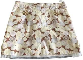 Louis Vuitton Multicolour Cotton Skirts