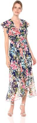 Brinker & Eliza Women's Floral Maxi Dress