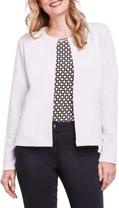 Olsen Single Top-Button Cardigan