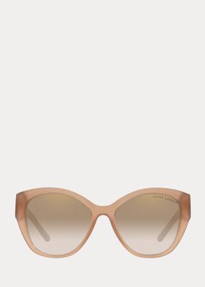 Ralph Lauren Mirrored Butterfly Sunglasses