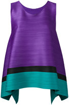 Pleats Please By Issey Miyake - sleeveless pleated top - women - Polyester - 3