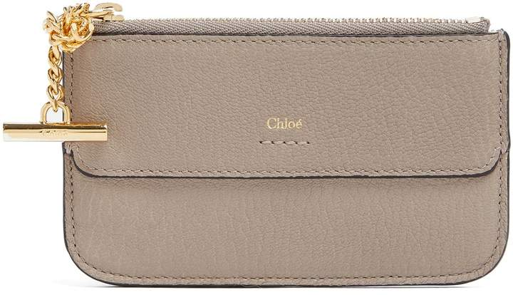 Chloé Drew leather cardholder