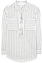Equipment Knox striped cotton shirt