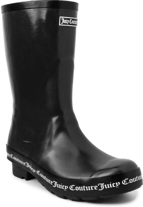 Juicy Couture Totally Waterproof Fashion Logo Rainboot