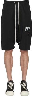 Rick Owens Pods Light Cotton Jersey Shorts