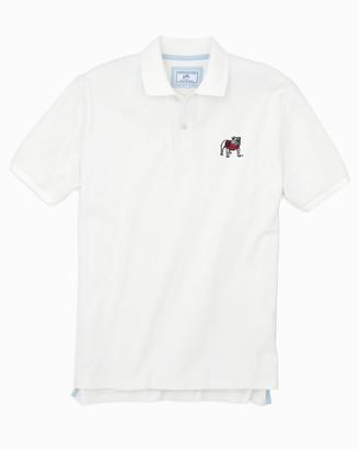 Southern Tide Georgia Bulldogs Pique Polo Shirt