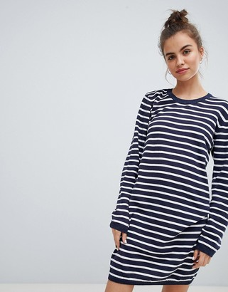 Blend She Lina Striped Sweater Dress