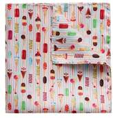 Eton Ice Cream Print Silk Pocket Square