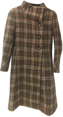 Carolina Herrera Multicolour Wool Coat for Women