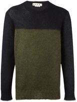 Marni colour block jumper - men - Polyamide/Mohair/Wool - 48