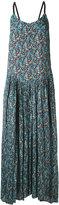 Twin-Set floral-print maxi dress - women - Silk/Polyester/Viscose - 42