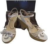 Celine White Sandals