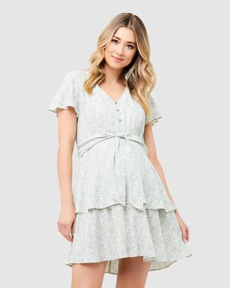 Ripe Maternity Women's Printed Dresses - Lulu Layered Dress - Size One Size, XS at The Iconic