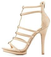Charlotte Russe Tubular Platform Dress Sandals