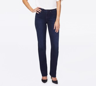 NYDJ Relaxed Straight Jeans - Bixby