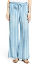 Women's Billy T Chambray Drawstring Wide Leg Pants