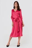 Rut & Circle Rut&Circle Fab Wrap Long Dress