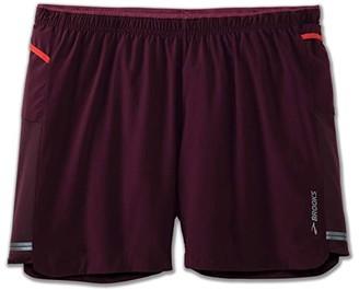 Brooks Sherpa 5 Shorts (Black) Men's Shorts