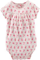 Osh Kosh Lace Bodysuit (Baby) - Pink/White-3 Months