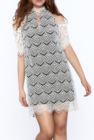 Kas Semi Lined Lace Dress