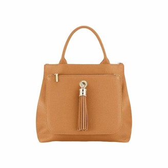 Sarah Haran Dahlia 2-in-1 Leather Tote